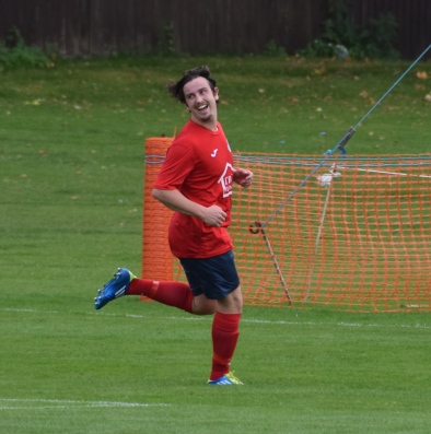 Seen here celebrating his second and Eversley's third