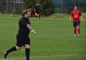 ...as referee Ron Jeremy awards the penalty.