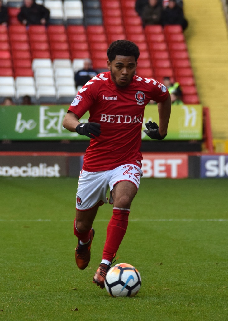 Jay DaSilva marauding down the left