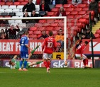 Forster-Caskey hits the post when he really should have scored