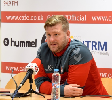 Karl Robinson post match