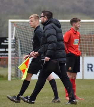 Off goes Stuart Henderson...