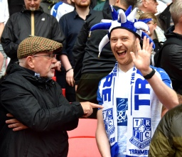 A particularly friendly Tranmere fan