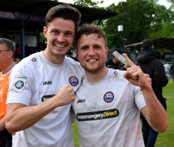 Luke Allen and Billy Crook have signed on again