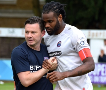 Marc-Anthony Okoye has crossed the Thames from Braintree Town