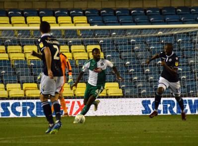 Yann Songo'o on the ball