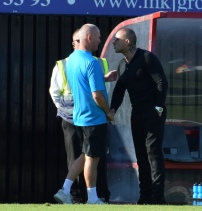 it looks as though Alan Dowson doesn't want to get too close...