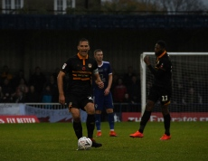 Mickey Demetriou passes back