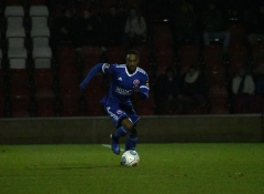 Craig Braham-Barrett advances in possession