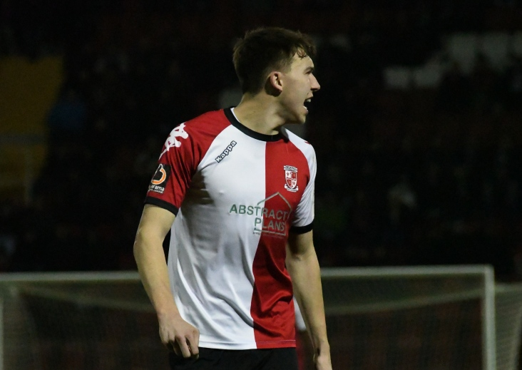 Jack Cook got his third league goal of the season