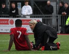 David Ajiboye receives treatment