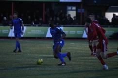 Olumide Oluwatimilehim on the ball