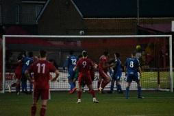 Jalen Jones' header finds the corner