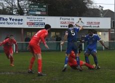 Jeremy Arthur gets tackled