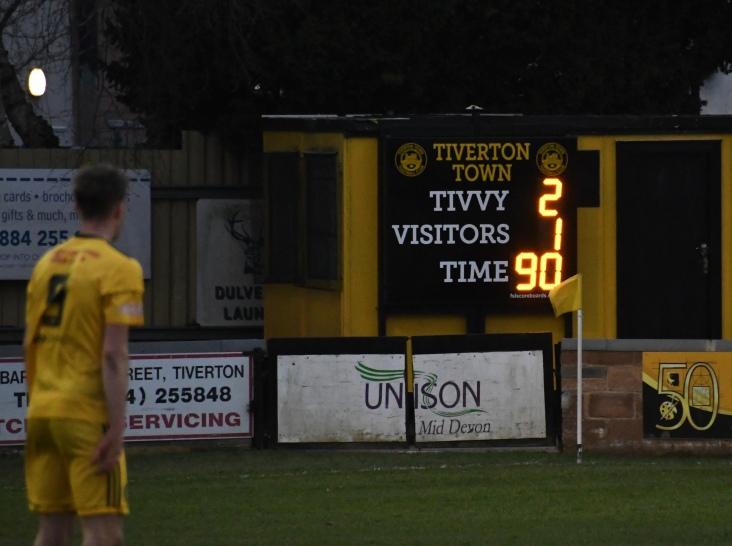 The final score