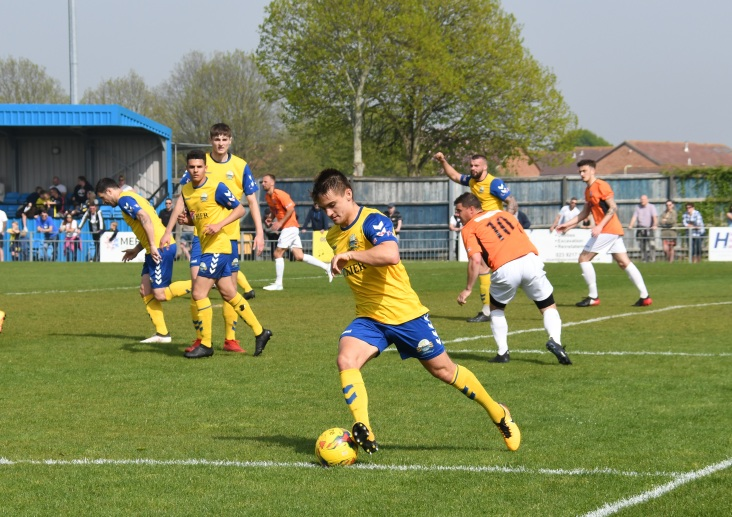 Freddie Reed brings the ball out