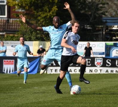 Alfy Whittingham escapes Anthony Straker