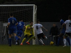 Aaron Dawson forces a save