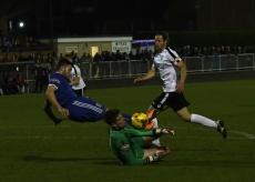 Jake Hallett bravely stops Blackmore
