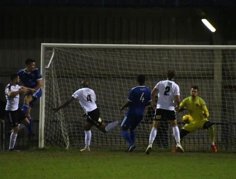 Darren Mullings pulls one back