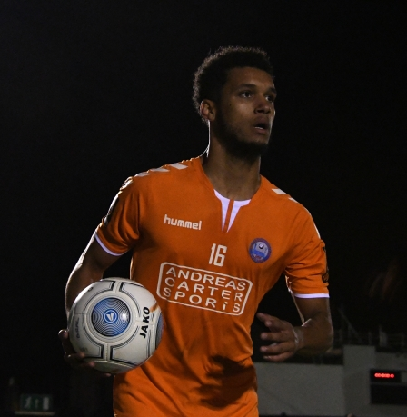 Back at Aldershot: Kodi-Lyons Foster