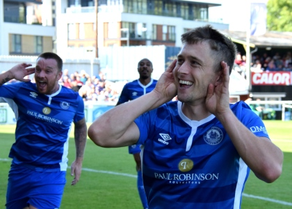 Jake Robinson will be back among the goals