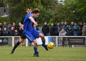 In at Aldershot: Ethan Chislett