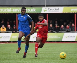 David Ajiboye has swapped Worthing for Sutton