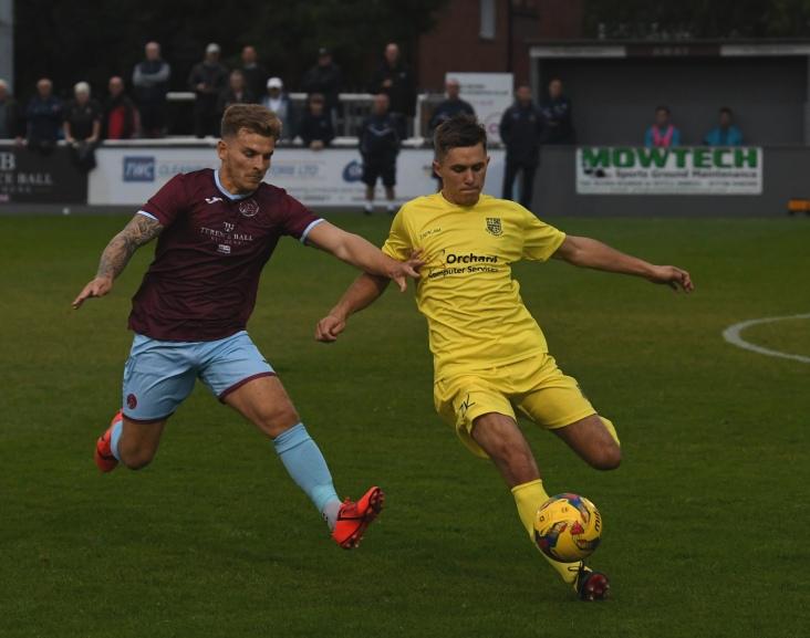 Sam Boulton clears