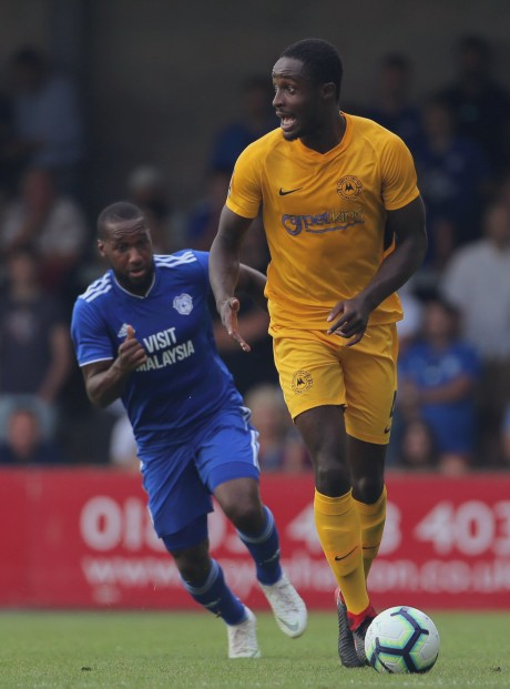 Against Cardiff