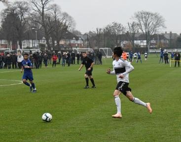 U18s vs Chelsea