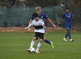 In U18s action vs Chelsea