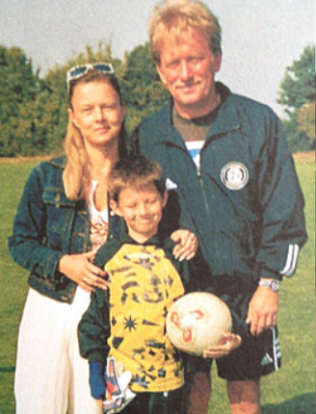 Berti and his parents