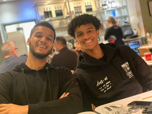 Kodi, and his brother, Brooklyn
