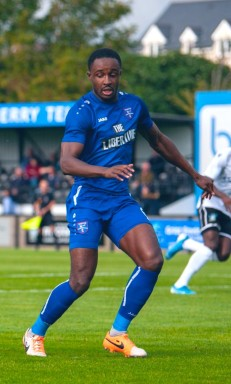 In action for Margate