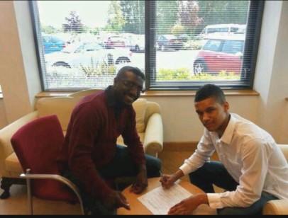 Signing for Villa
