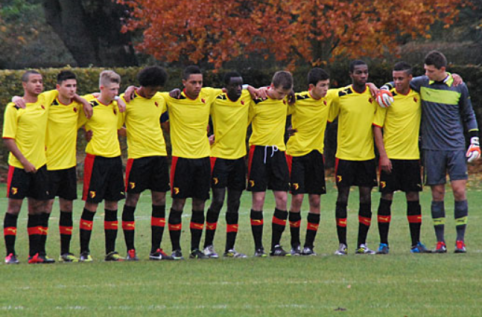 Lining up for Watford