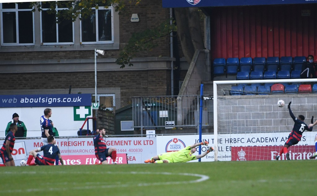 Danny Rowe extends the lead