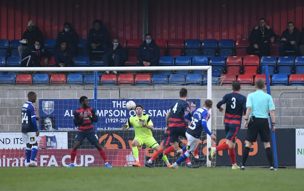 Julian saves from McCalmont