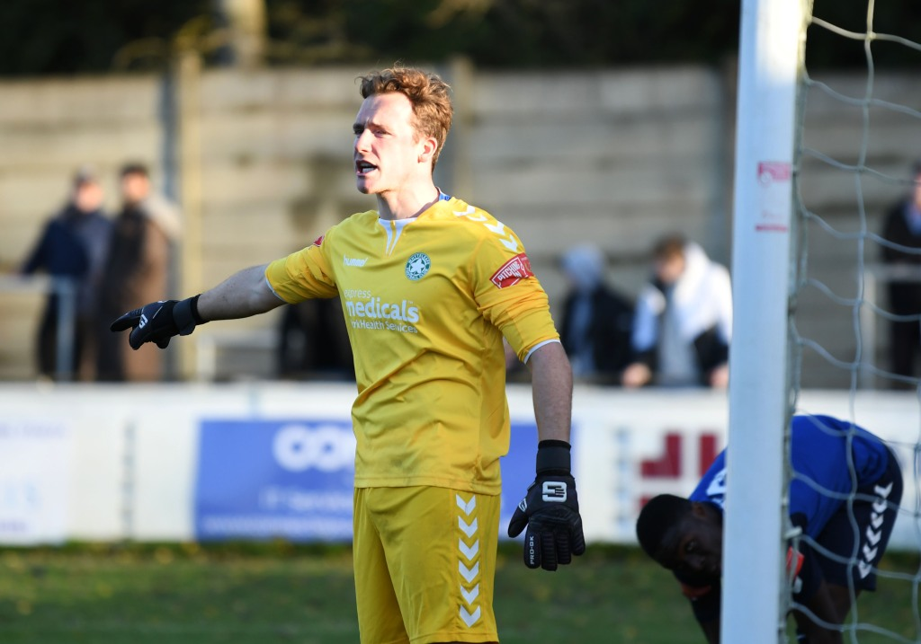 Tyler McCarthy, Whyteleafe 'keeper