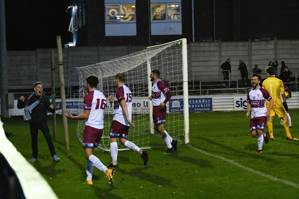 Chesham United are level